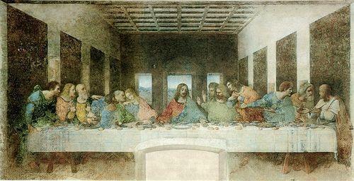 Jesús y la última cena