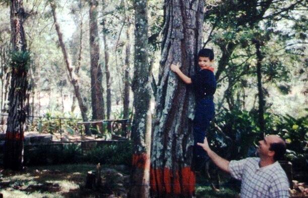 (Mi papá y yo. 1998.)
