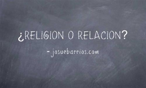 ¿El cristianismo es una relación o una religión?