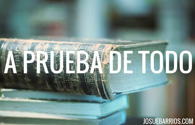 Biblia a prueba de todo