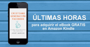 Últimas Horas Para Adquirir GRATIS mi Nuevo eBook
